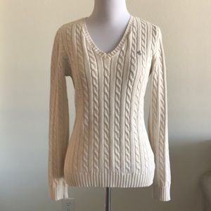 Ralph Lauren cable knit sweater XS